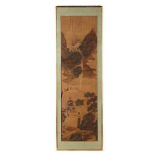 Attributed to Gu Jianlong (Chinese, 1606- ca 1687), A