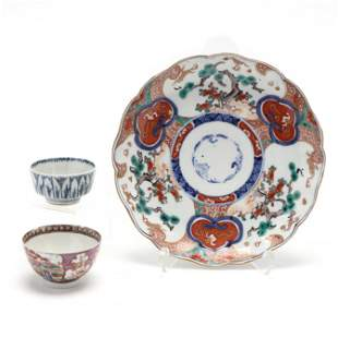 A Group of Asian Porcelain