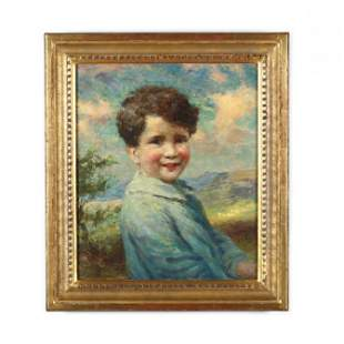 William J. Medcalf (English, 1879-1930), Portrait of a