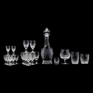 Set of Waterford  Colleen   Cut Crystal Barware