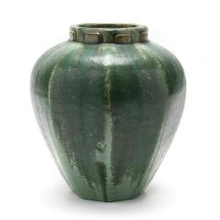 Fulper Art Pottery Octagonal Vase