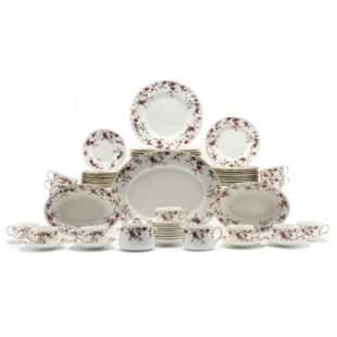 Set of Minton  Ancestral  China Dinnerware