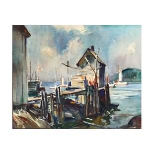 William Lester Stevens (MA, 1888-1969), Harbor View