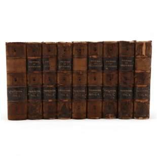 Nine-Volume Set,  The Writings of Thomas Jefferson:...