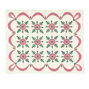 Vintage Applique Quilt