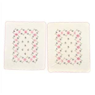 Pair of Vintage Applique Quilts