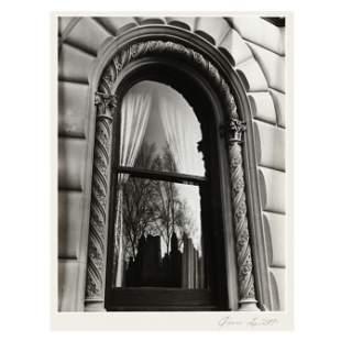 Vintage Photograph of a Metropolitan Window Facade