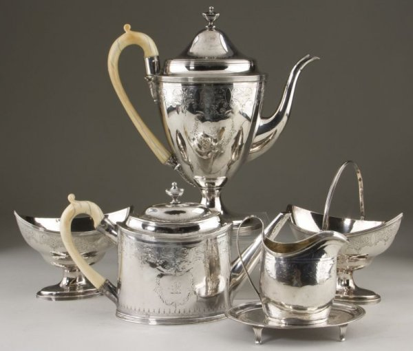 3: George III Silver Tea & Coffee Service