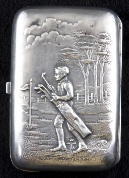 5: Sterling Silver Cigarette Case