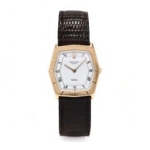 18KT Gold  Cellini  Watch, Rolex