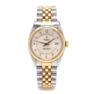 Gent's Two Tone Oyster Perpetual Datejust Watch, Rolex