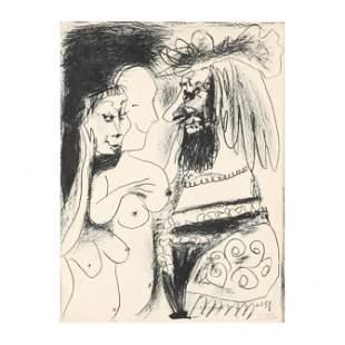 Pablo Picasso (Spanish, 1881–1973),  Le Vieux Roi