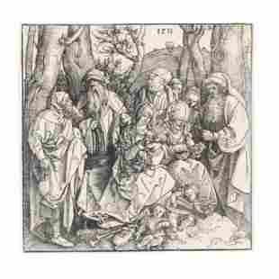 Albrecht Durer (German, 1471-1528),  The Holy Kinship