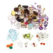 Large Group of Loose Gemstones