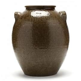 NC Pottery Storage Jar, James Franklin Seagle (Lincoln