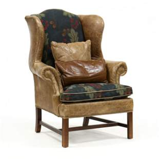 Lexington Furniture, Leather Upholstered Easy Chair