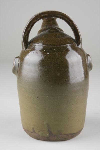 233: Billy Henson South Carolina Pottery Face Jug - 2