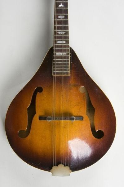 667: Early Vintage Gibson A-50 Mandolin - 3