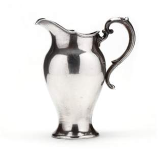 A Reed & Barton Sterling Silver Pitcher