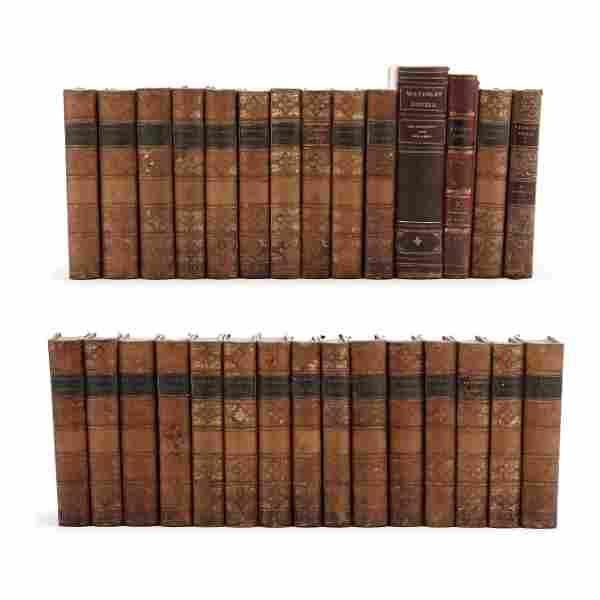 29 Volumes of Sir Walter Scott's Waverly Novels