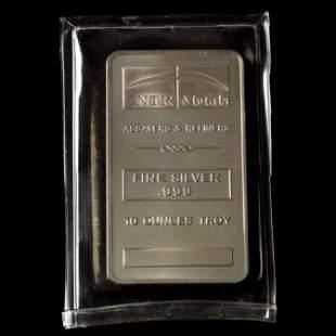 NTR Metals 10 Ounce .999 Fine Silver Bar
