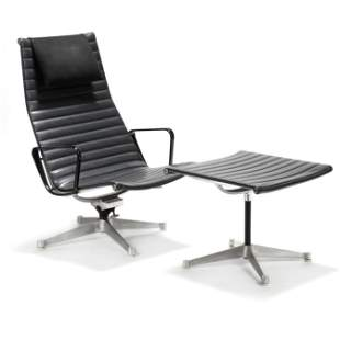 Charles and Ray Eames, Aluminum Group Lounge Chair and