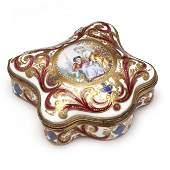 Sèvres Style Porcelain Dresser Box