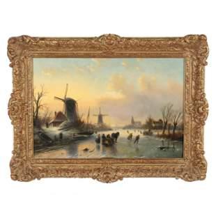 Jacob Jan Coenraad Spohler (Dutch, 1837-1922), Winter