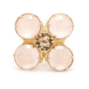 Gold and Gem-Set Ring