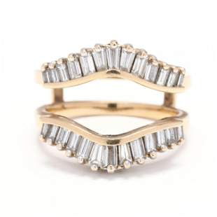 Gold and Diamond Ring Jacket, A. Jaffe