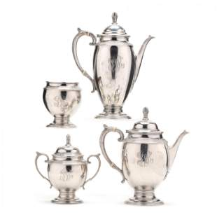 Gorham Sterling Silver Coffee and Tea Service