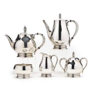International Royal Danish Sterling Silver Tea &