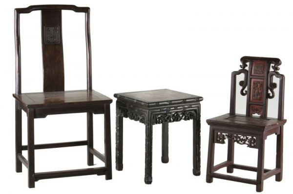 11: Three Pieces of Chinese Furniture