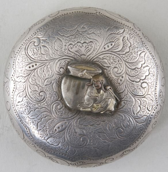 23: Antique Japanese Silver Compact