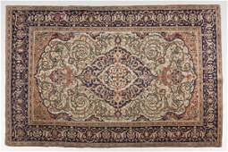 564 Antique Persian Kashan Area Rug