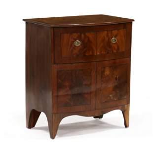 Antique English Mahogany Diminutive Storage Chest