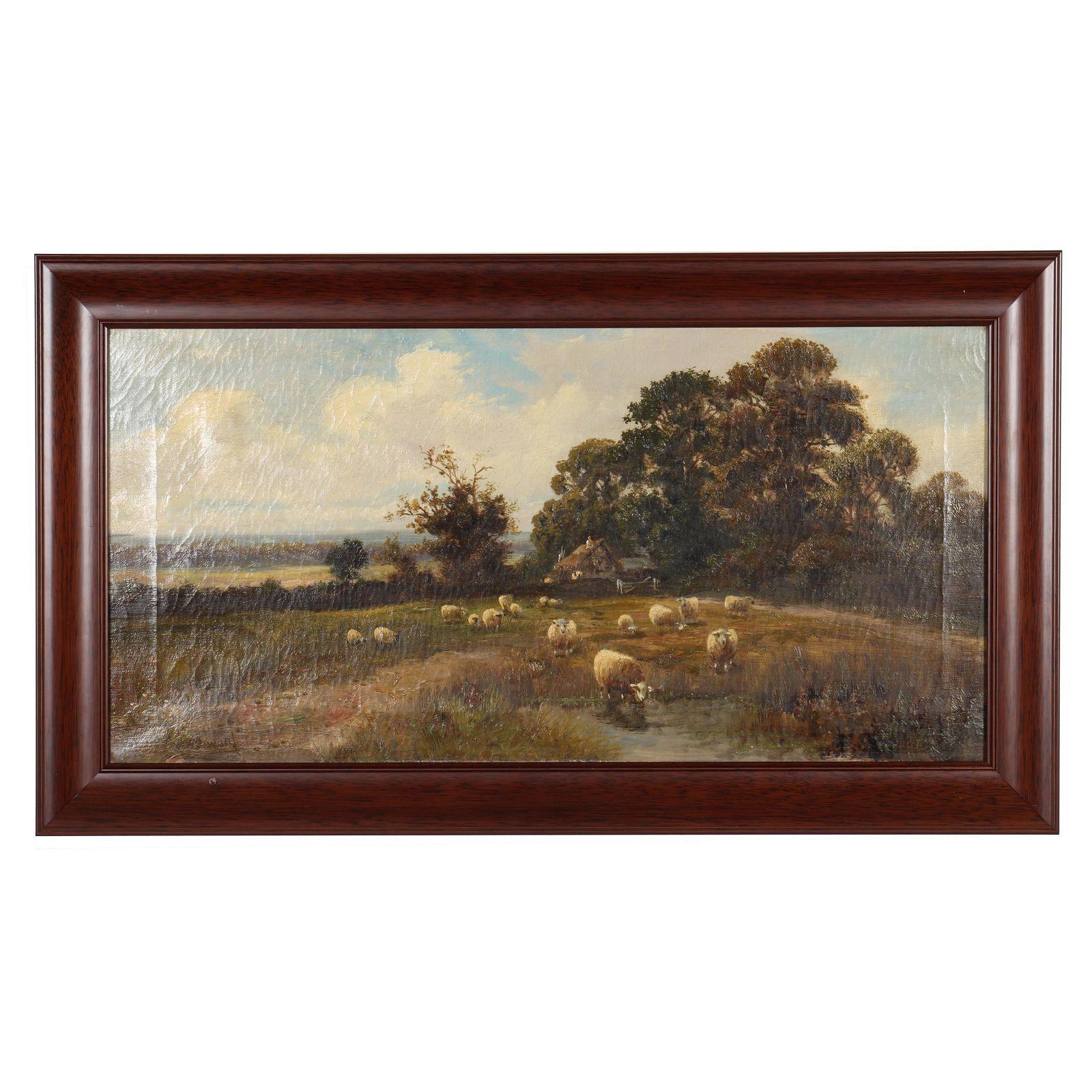 Charles W. Oswald (British, fl. 1892-1900), Landscape