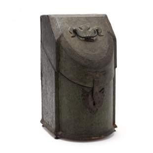 Georgian Shagreen Bowfront Knife Box