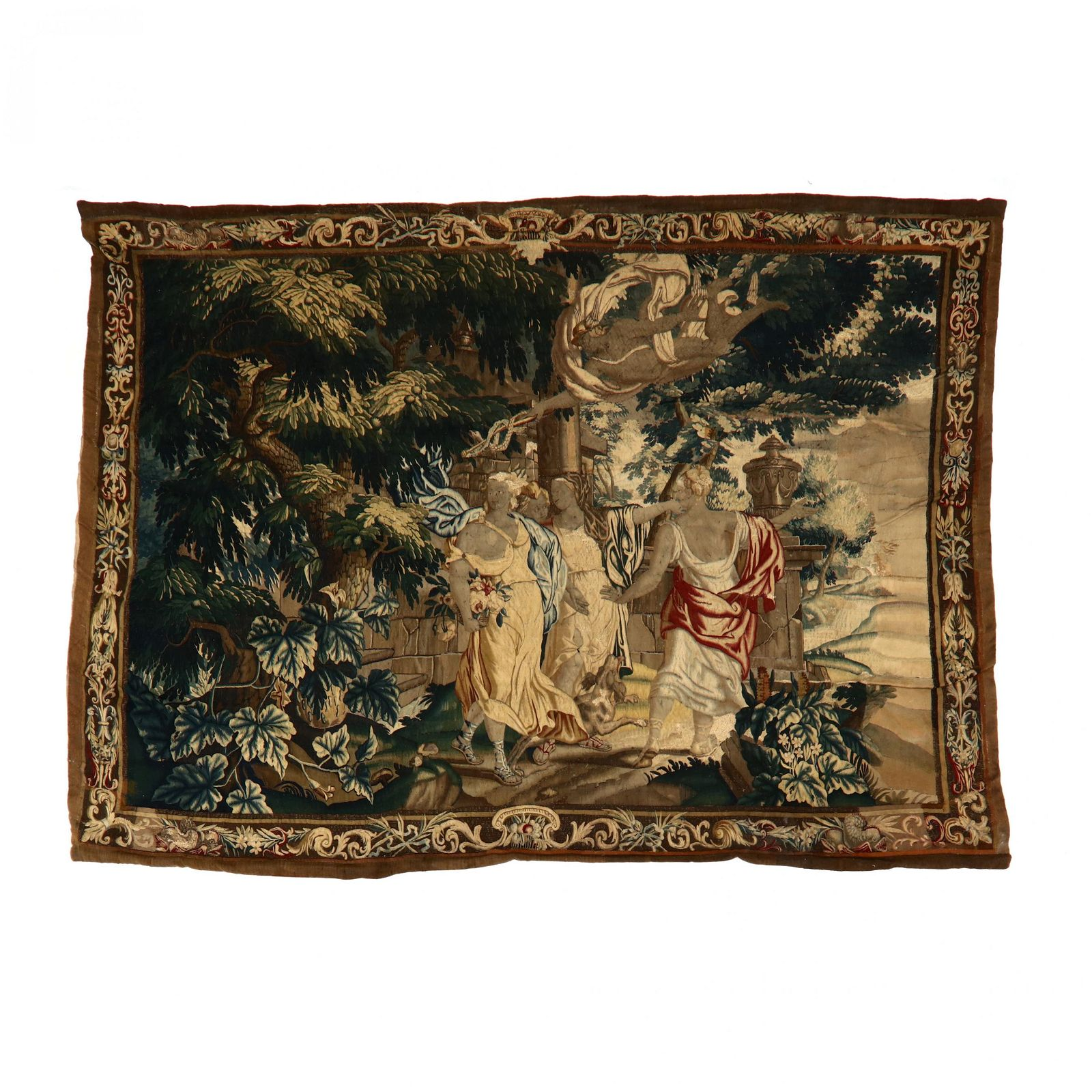 Antique Continental Tapestry