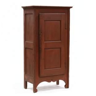 American Primitive Painted Storage Cabinet