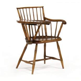 American Windsor Writing Arm-Chair