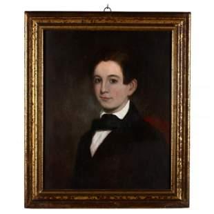 An Antebellum Portrait of a Young Man