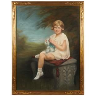 Adelene Munn (American, b. 1874), Portrait of a Young