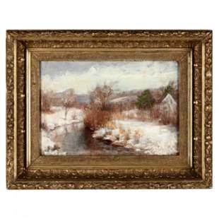 H. E. Kinney (American, 19th / 20th century), Winter