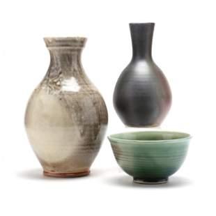 Ben Owen III (NC), Three Pieces of Pottery