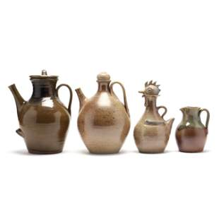 Four Pieces of Jugtown (NC) Pottery