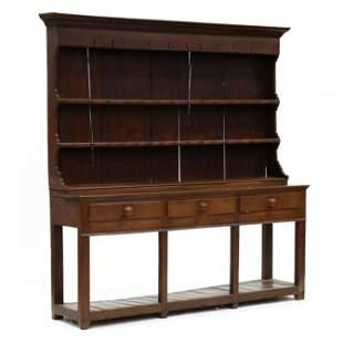 Antique Welsh Walnut Dresser