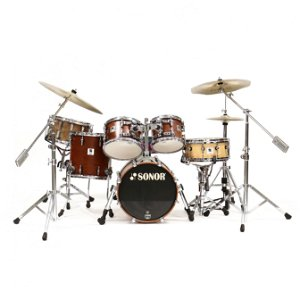 Sonor Drum Set, Made in Germany