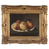 English School (19th century), Still Life with Peaches,
