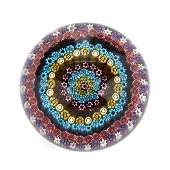 Baccarat, Millefiori Crystal Paperweight
